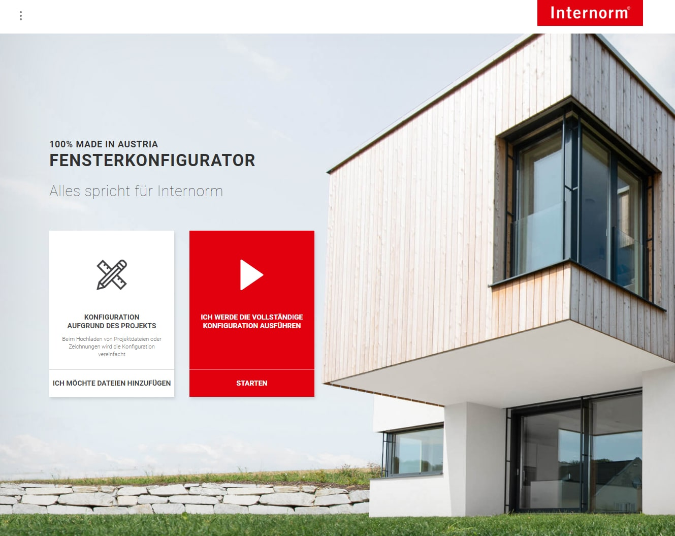 Fensterkonfigurator Web News