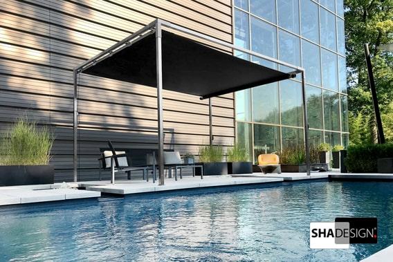 Sonnensegel Cube Pool